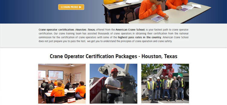 Crane Training Texas