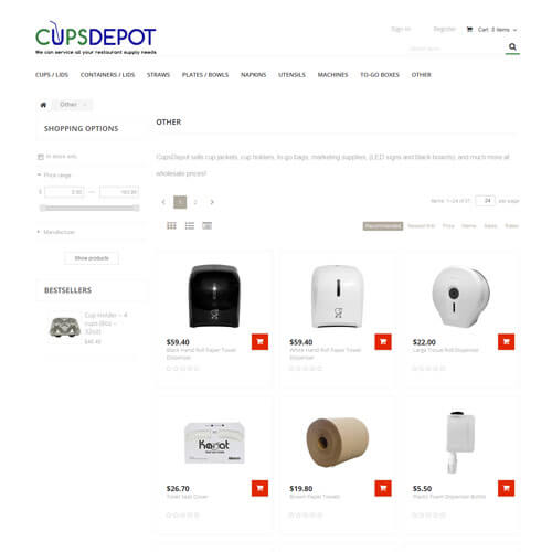Cups Depot - Other