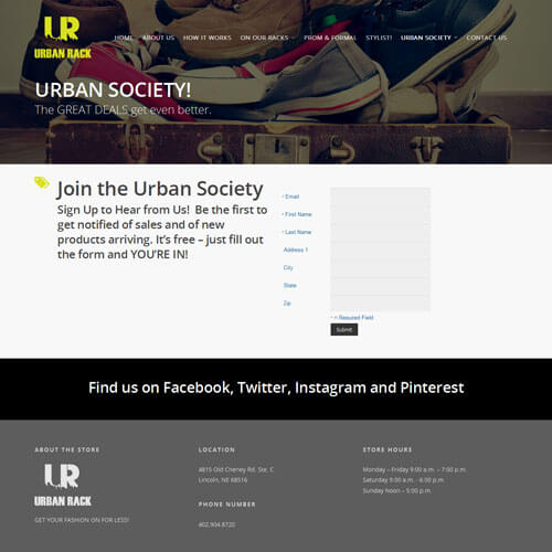 Urban Rack - Urban Society