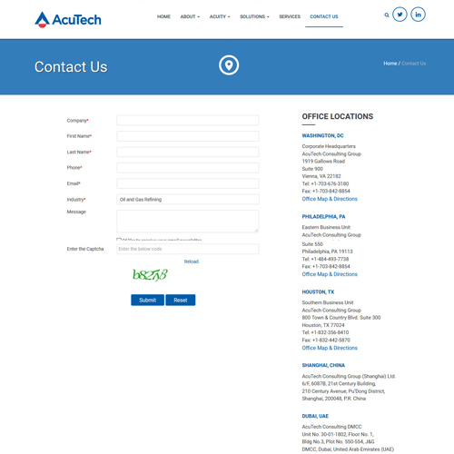 Acutech Software - Contact-Us